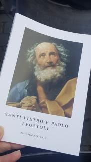 Buku Misa Perayaan Hari St Petrus dan Paulus