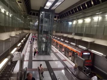 Stasiun Metro Airport Athens