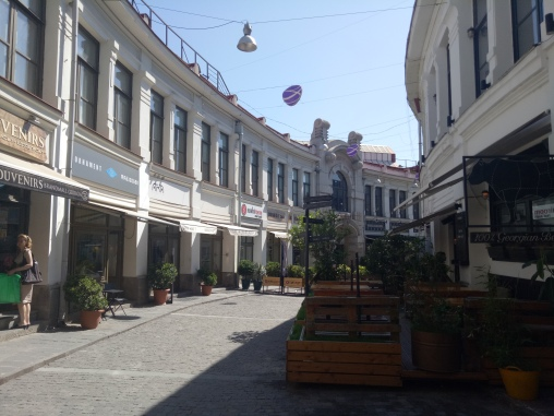 Cafe-cafe dan Restoran di kawasan Old Town