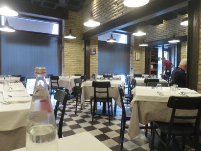 Restoran Felice saat kami tiba