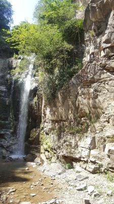 Air terjun dekat Abanotubani