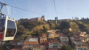 Narikala Fortress dari kejauhan