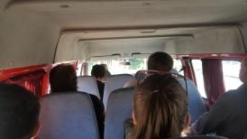 Perjalanan pulang ke Tbilisi dengan Marshrutka