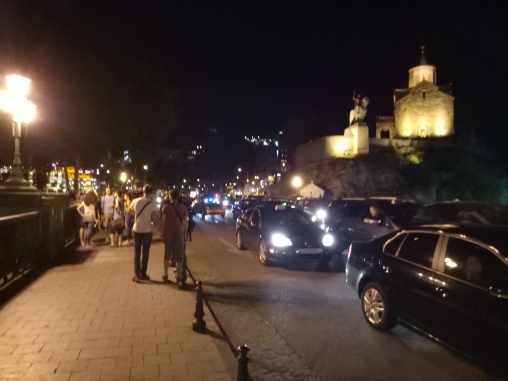 Suasana Malam Kawasan Old Town