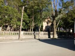 Jalan di Kazbegi yang sepi