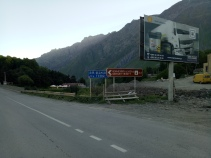 Road to Gergeti Church