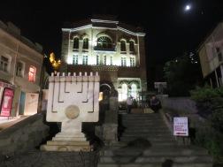 Synagogue atau rumah ibadah umat Yahudi di Tbilisi