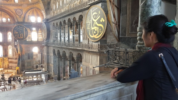 Menatap Keindahan Hagia Sophia