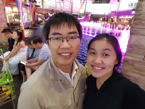 Selfie pertama di Phuket