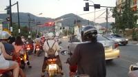 Kondisi jalan di Phuket Town