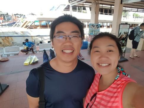 Selfie di Pelabuhan Phuket