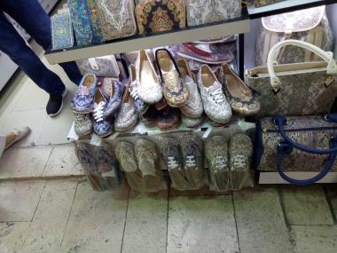 Sepatu motif Ottoman