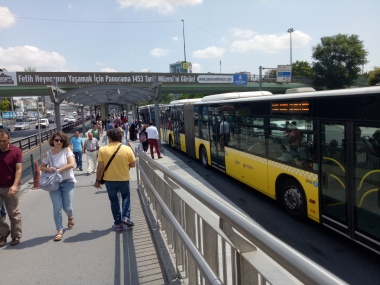 Bus Way Istanbul