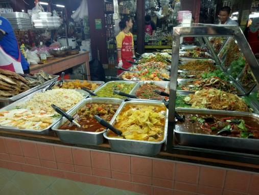 Makanan siap saji di Banzaan Fresh Market