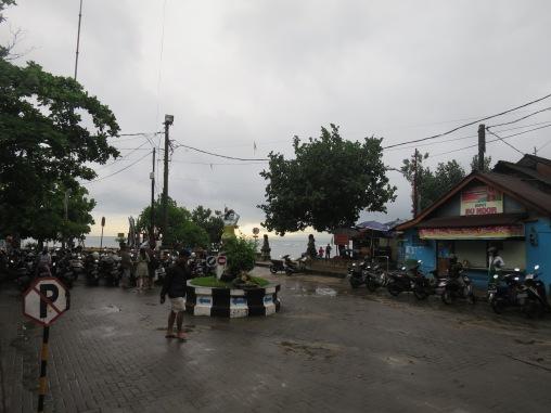 Pelabuhan Sanur di pagi hari