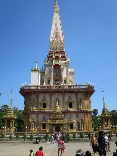 Chedi tempat serpihan tulang Sang Buddha berada