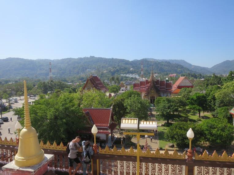 Pemandangan dari Chedi
