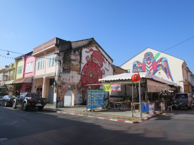Mural di Thalang Road
