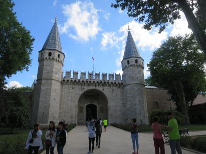 Gerbang Meriam Istana Topkapi