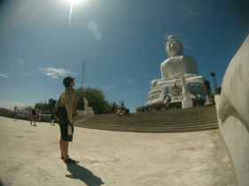 Di hadapan Big Buddha