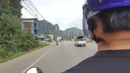 On the way to Ao Nang Beach