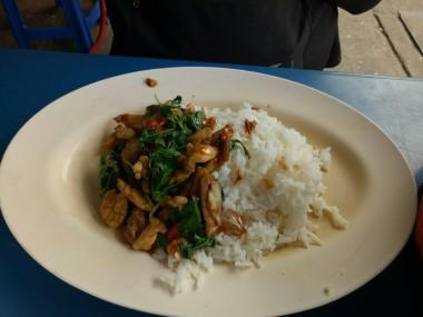 Nasi Ayam Basil