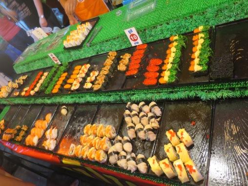 Sushi murah di Krabi Night Market