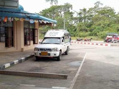 Song Theaw jurusan Terminal-Krabi Town-Ao Nang