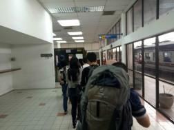 antrian imigrasi Thailand-Malaysia