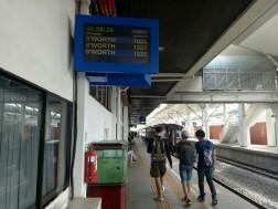 Suasana stasiun Padang Besar
