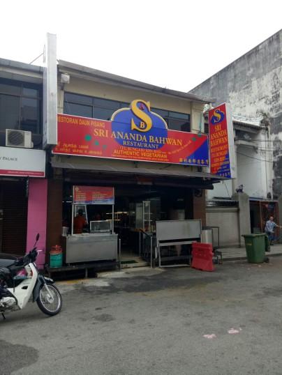 Restoran Sri Ananda Bahwan (vegetarian)