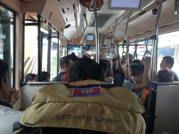Kondisi bis yang lengang