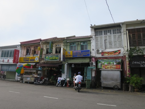 Toko-toko di Lebuh Chulia