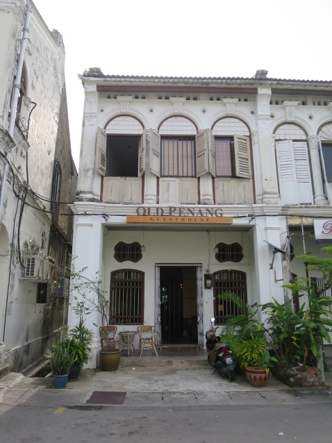 Old Penang Guest House, my first crush on Penang hostels