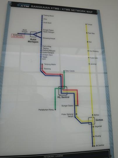 rute kereta ETS dan komuter