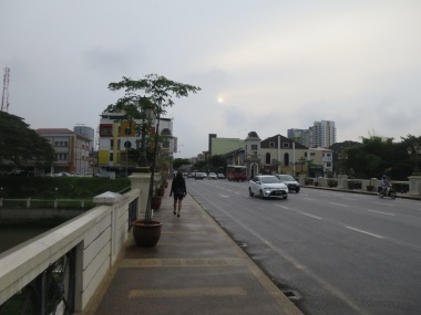 One cloudy morning in Ipoh