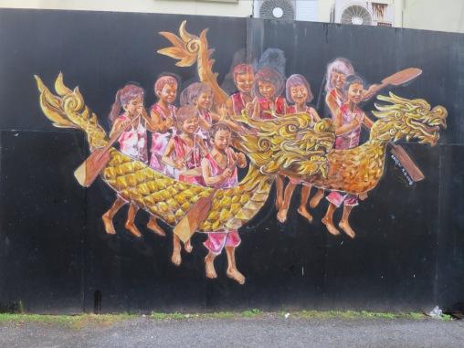Mural Barongsai
