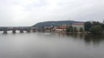 Hujan di Praha