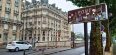 Pont de l'alma, di dekat jembatan inilah Putri Diana menemui ajalnya setelah dikejar2 papparazi