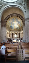 kubah dengan mosaik ala Byzantium