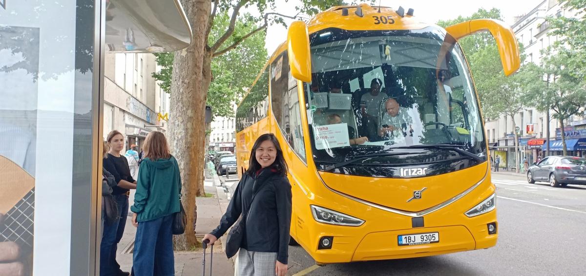 Dari Paris Ke Praha Bersama Bis Regiojet Guru Kelana