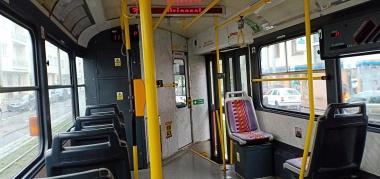 bagian dalam tram