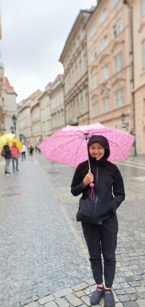 hujan melulu di Praha