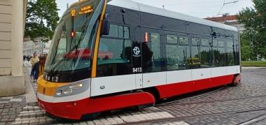 Tram modern