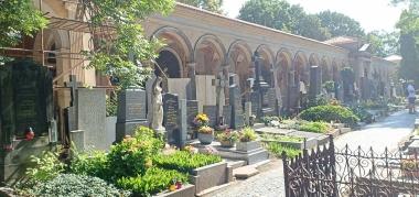 Kompleks Kuburan di Vysehrad Castle