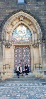 Pintu Gerbang Basilica yang indah