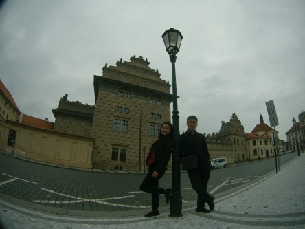 Halaman depan Prague Castle