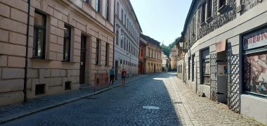 One morning in the old town