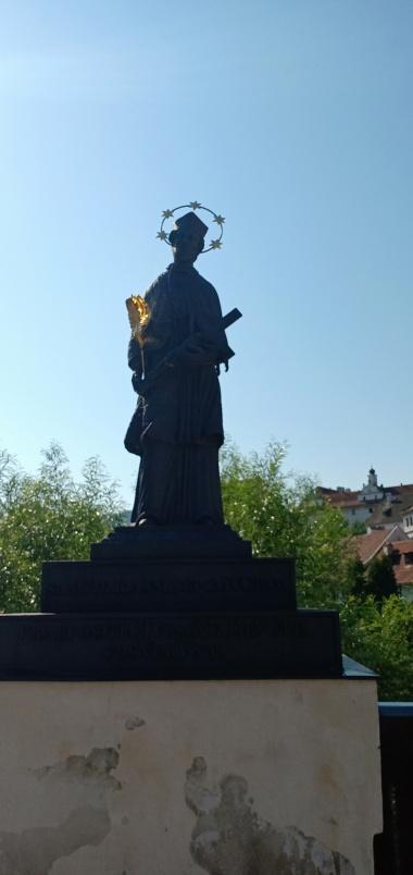 Patung St John Nepomuk