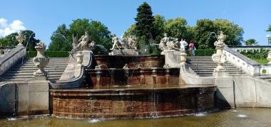 Air Mancur dengan gaya Perancis